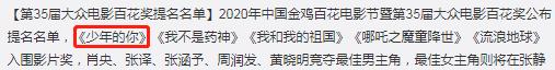 王俊凯官宣百花奖主持,我却注意到,这次得奖名单跟他的关系