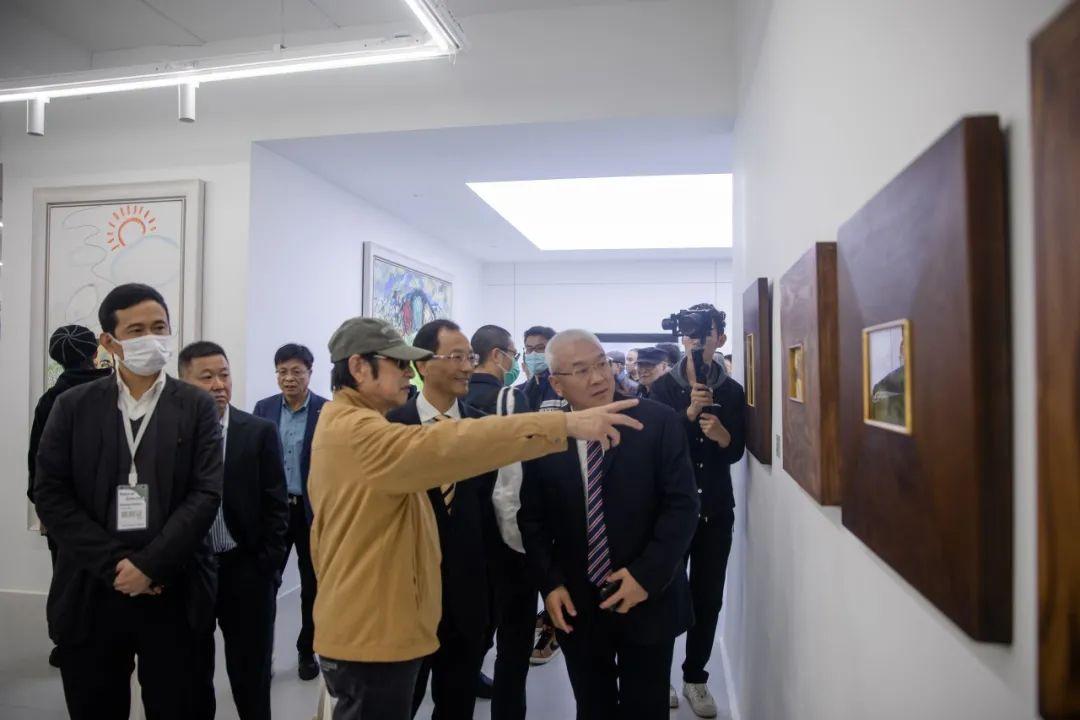 温州首个以个人艺术家命名的美术馆 温肯陈天龙美术馆今日开馆
