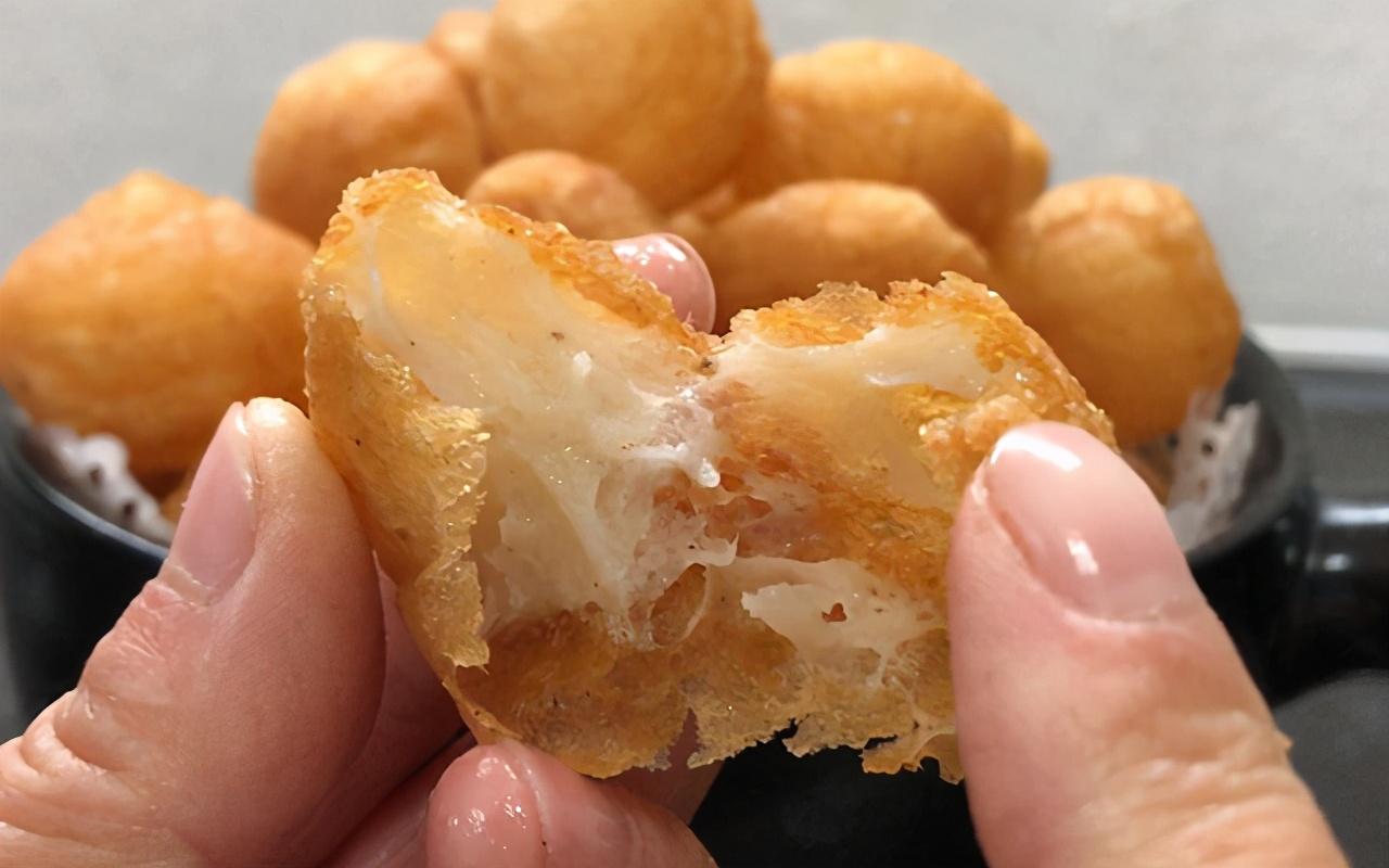 纯手工鱼腐的做法,外脆里嫩,鲜香美味,学会了不用出去买了