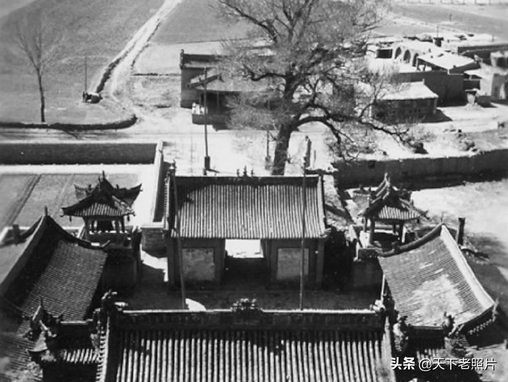 1933年的大同云冈石窟老照片 战火损毁前的珍贵影像