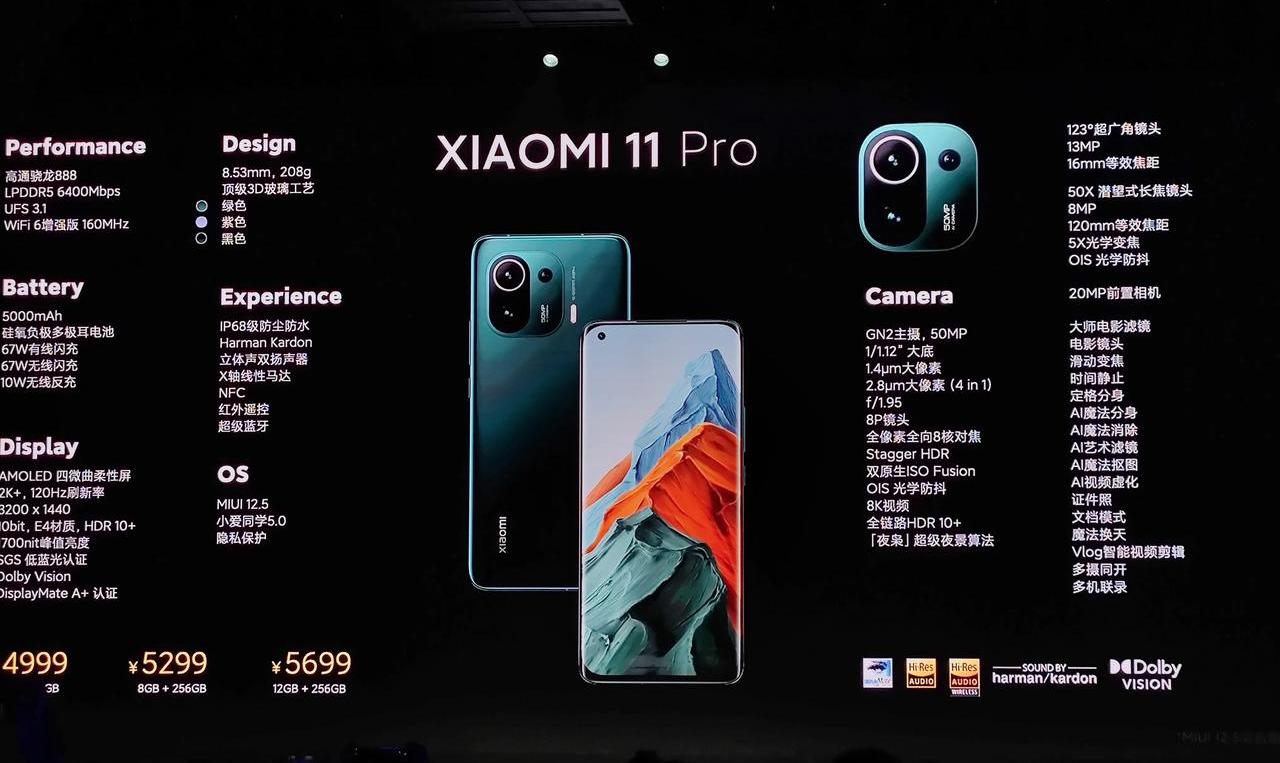 小米11 Pro和Ultra已经这么劲爆,那明天发布的产品?