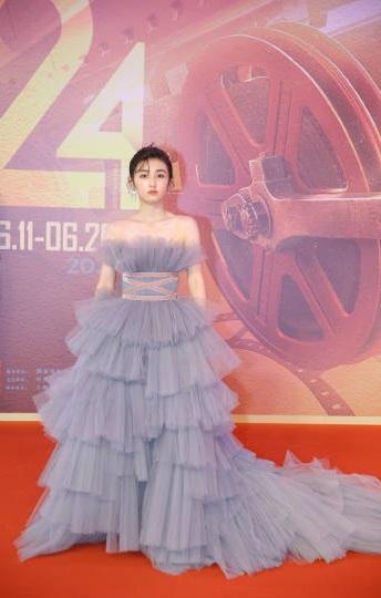 上海电影节,周冬雨、陈红、殷桃、张天爱等9大女星,群芳争艳
