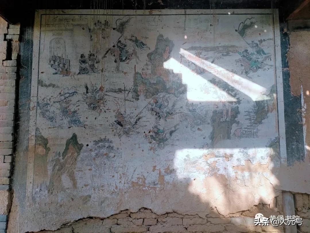 黄堡文明塬关帝庙壁画的秘密/秦陇华