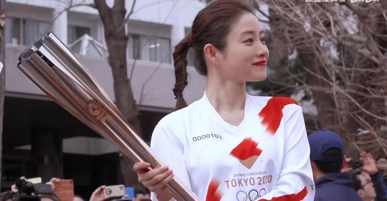 一己之力拯救半个东京开幕式!她好看吗?