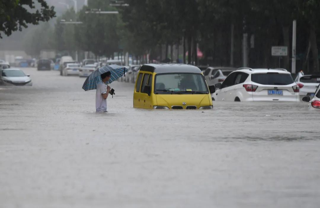 郑州!郑州!特大暴雨为千年一遇!河南这次暴雨为什么这么强?
