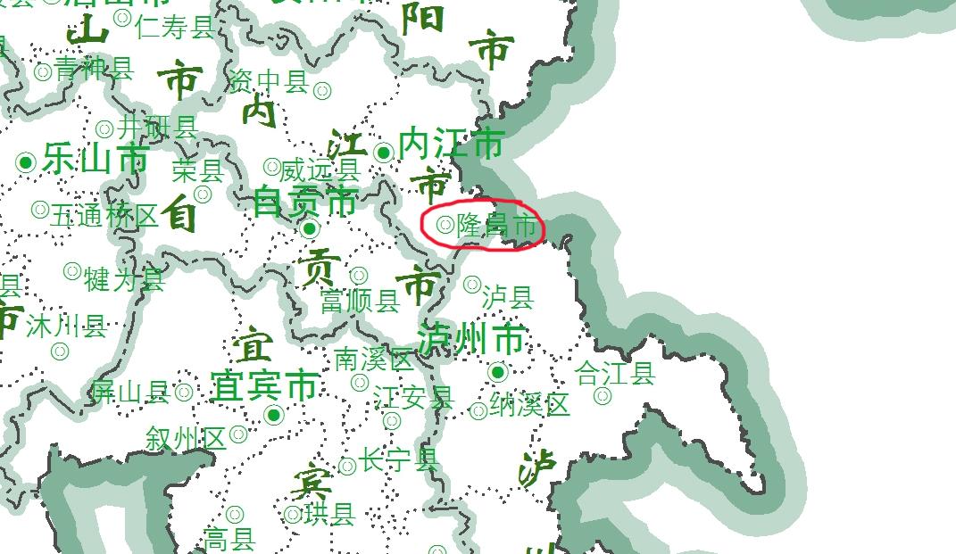 以前属于宜宾的隆昌,为何划给了内江?
