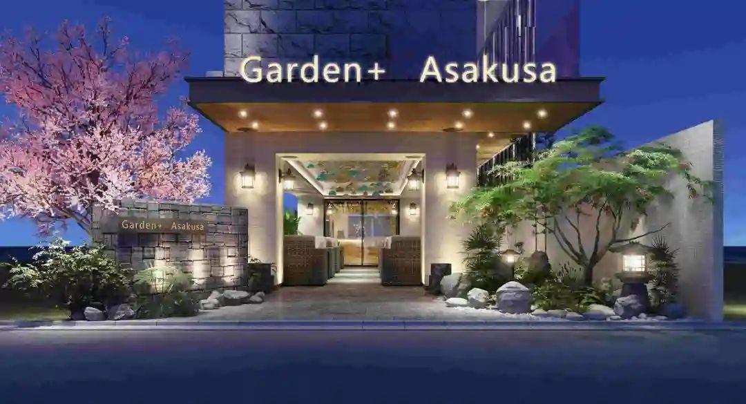 东京热销包租公寓,浅草花园 Garden+ Asakusa