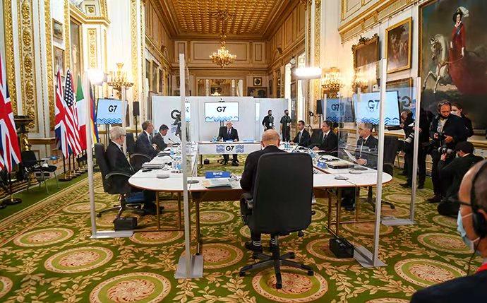 中方批G7外长会:搞开历史倒车的集团政治!