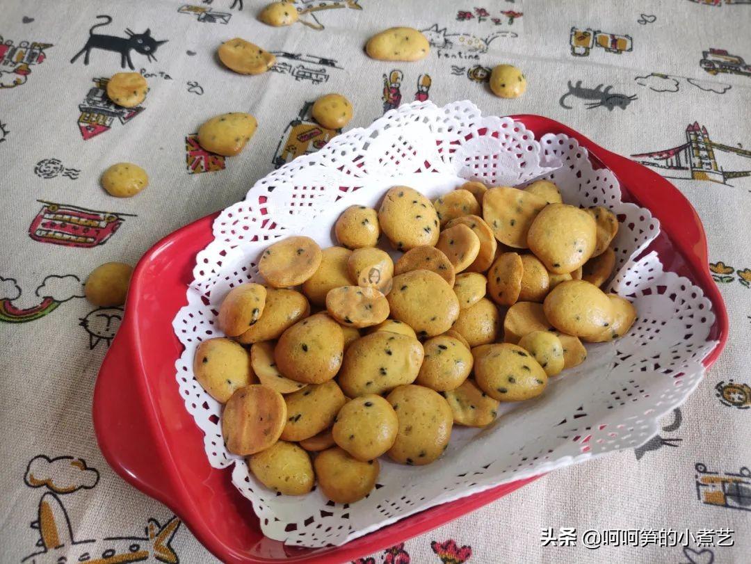 无水又无油,一个配方两个味道,教你做出好吃的鸡蛋饼干