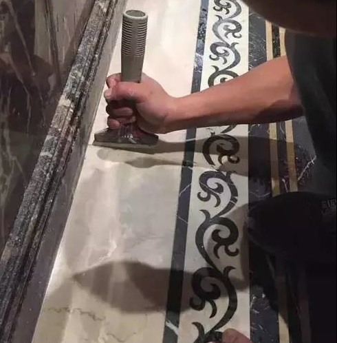 大理石翻新打磨的7個步驟,知道后不踩坑