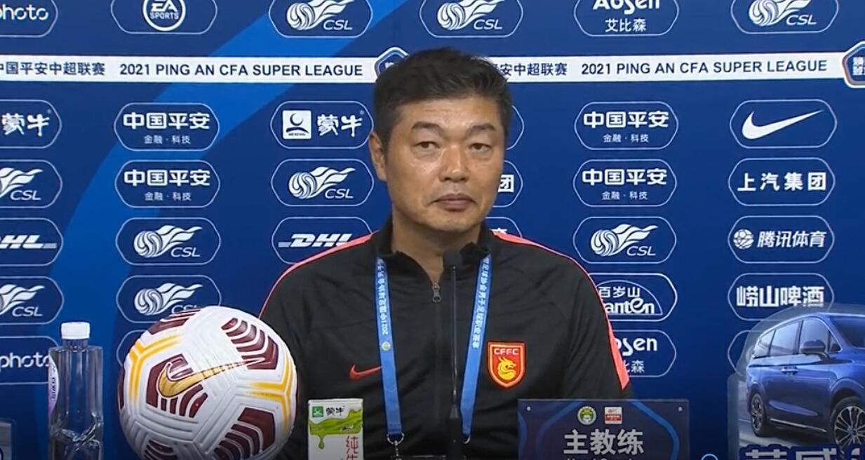 金钟夫:河北队还没有完全准备好状态,但对今天比赛结果还满意