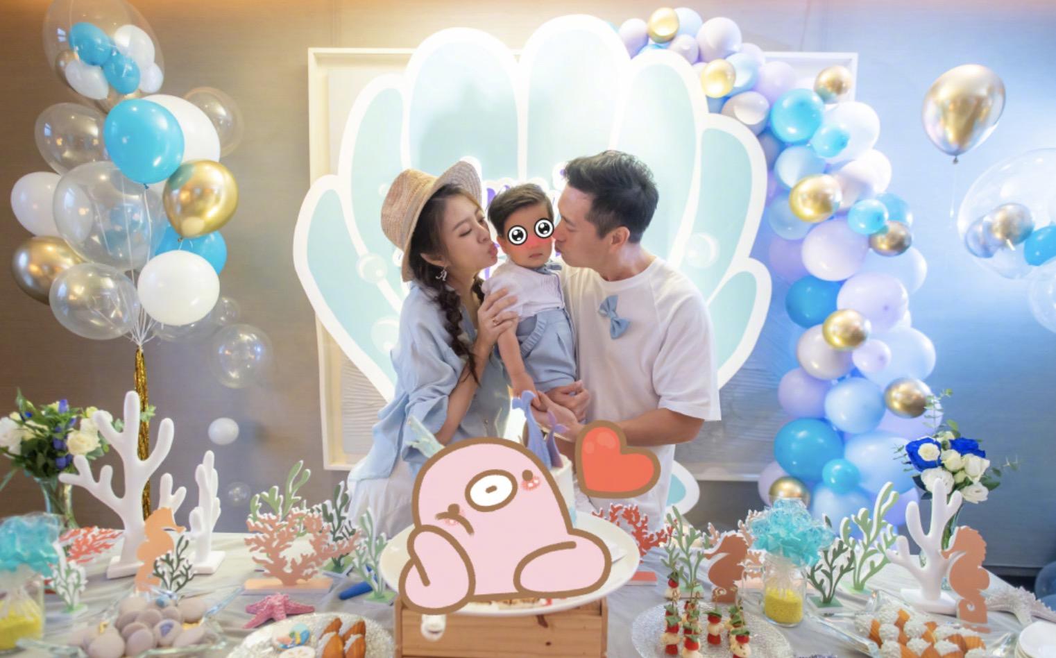 40岁安以轩晒照庆生,为二胎办迎婴宴,丈夫送380万名表宠妻