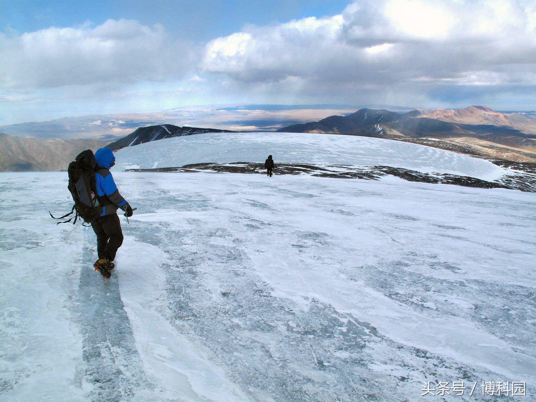 在上个冰河时代,蒙古戈壁沙漠的冰川实际上缩小了