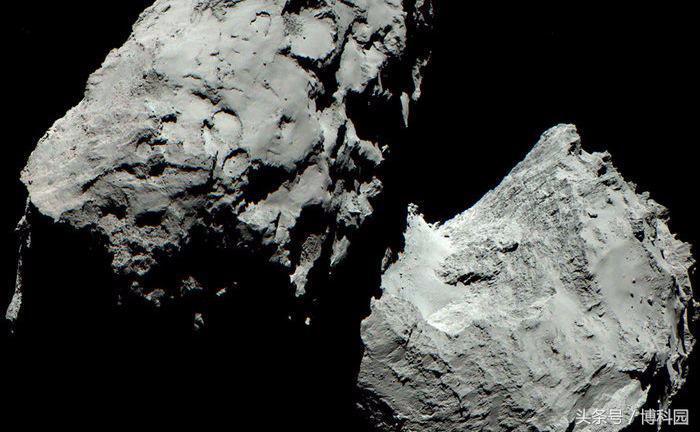 罗塞塔67P是两颗彗星相撞的结果