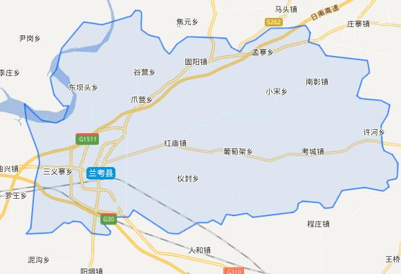 河南省一个县,人口超80万,由两个县合并而来!