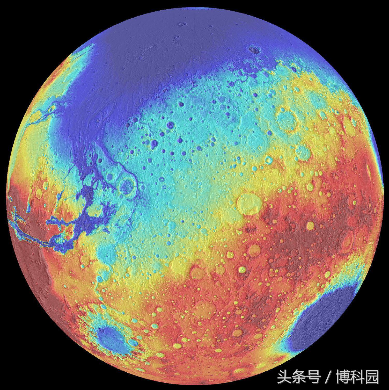 火星和地球上的稀有金属蕴含着巨大影响