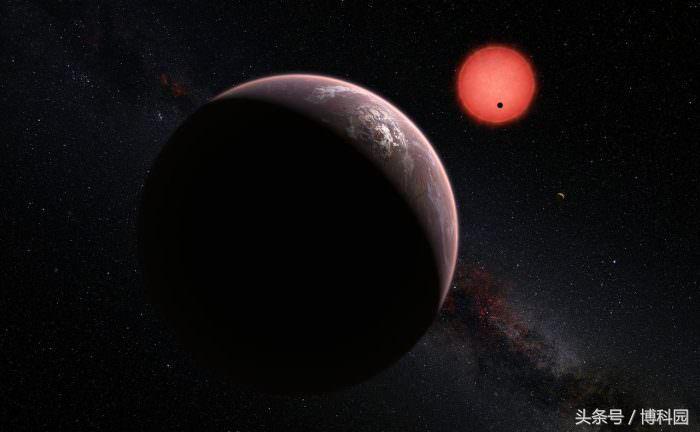 这颗系外行星有很多水,适宜移民居住?