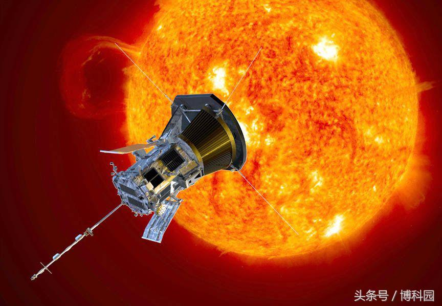 你也能随NASA帕克太阳能探测器触摸到太阳