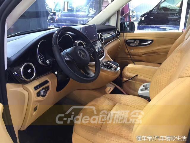 不一样的风格只为与众不同——奔驰V260改装内饰