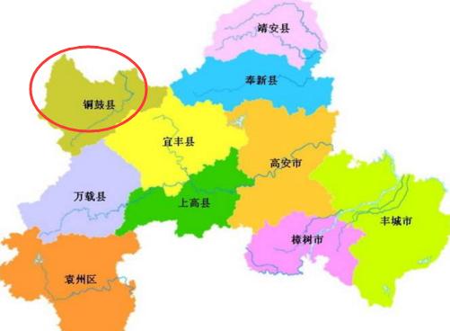 江西省一个县,人口仅15万,因一块石头而得名!