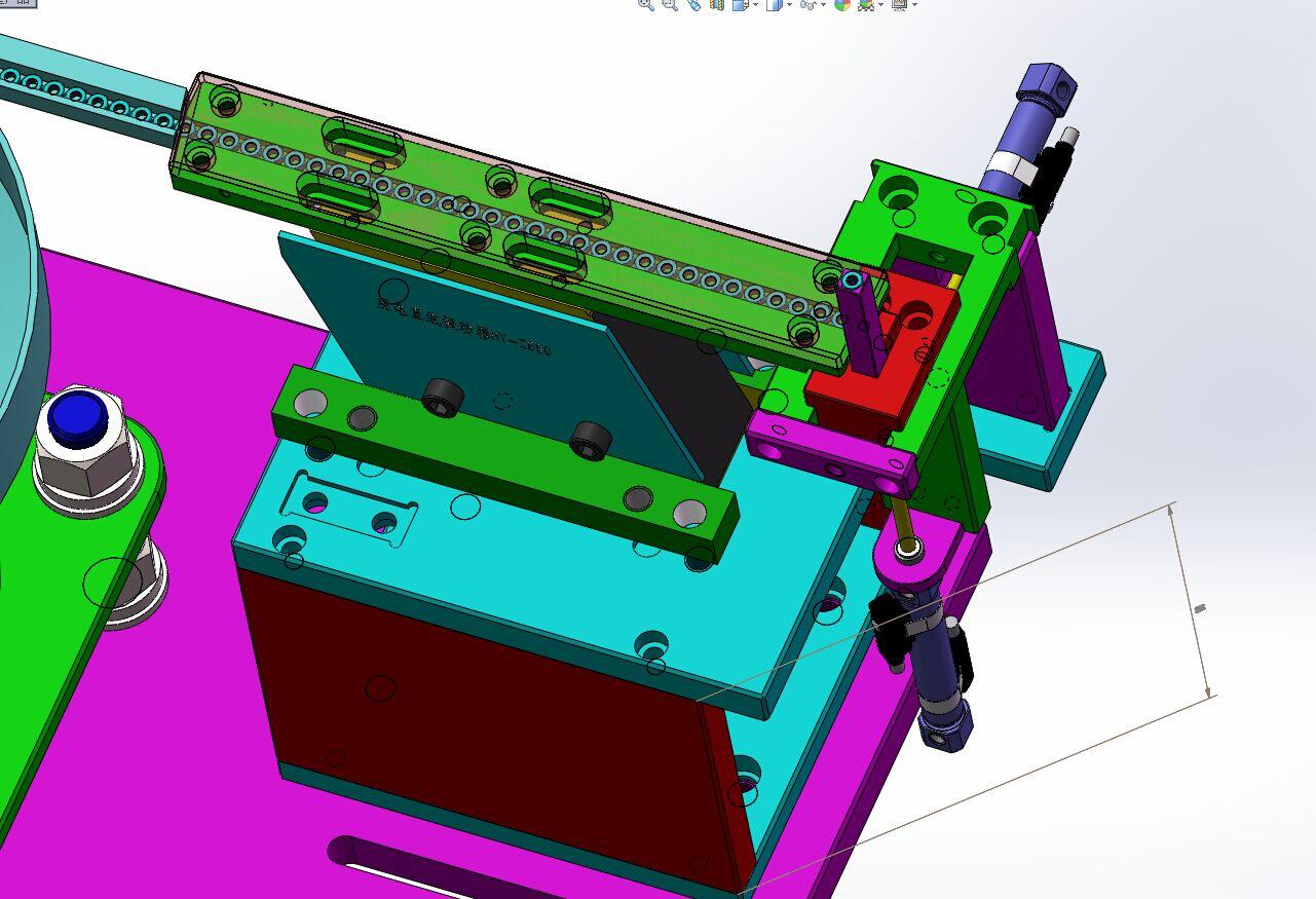 方形螺母振动盘直振送料分结构3D数模图纸 Solidworks设计