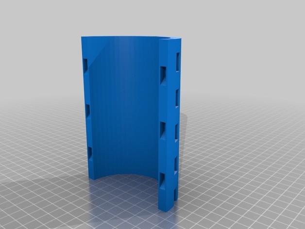 阿基米德螺旋扬水器3D打印图纸 STL格式