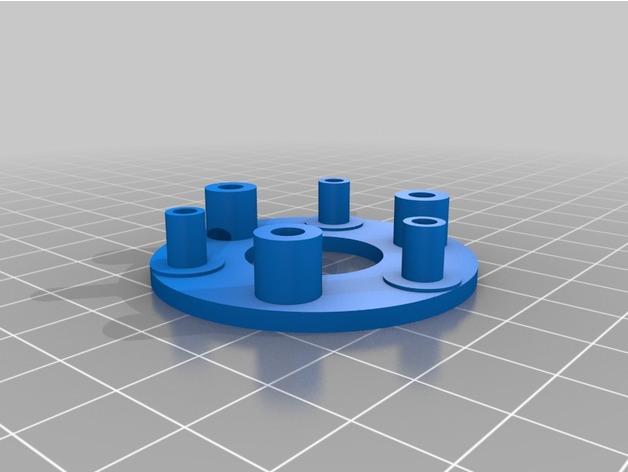 手持式机械风扇玩具模型3D打印图纸 STL格式