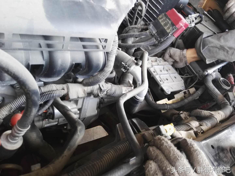逍客发动机转速飙升/车速却提不上去 更换离合器三件套