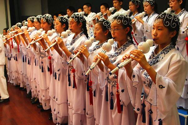 中国乐器之葫芦丝