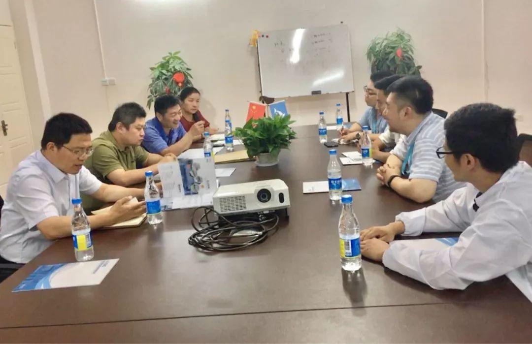 热烈欢迎武汉市江夏区胡奇文副区长莅临湖北祺美中检联指导工作