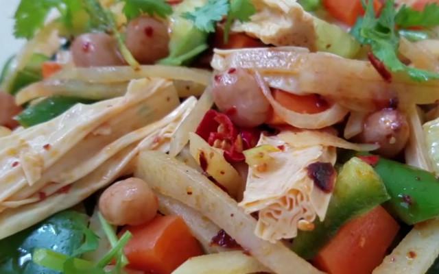 减肥凉拌菜做法  鲜美无比 爽口开胃