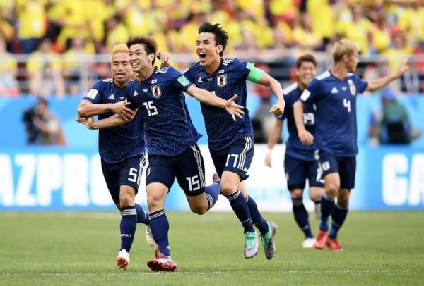 世界杯哥伦比对日本结果