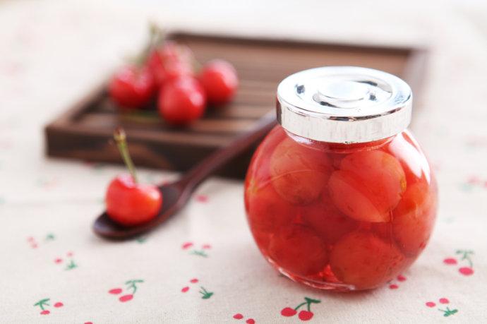 樱桃罐头的做法步骤图 吃不了的水果这样做没有添加剂还能放一