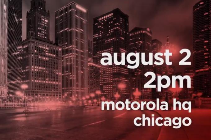 模块化设计 5G?Moto公布在7月6日举行新品发布会:三款机器设备出场