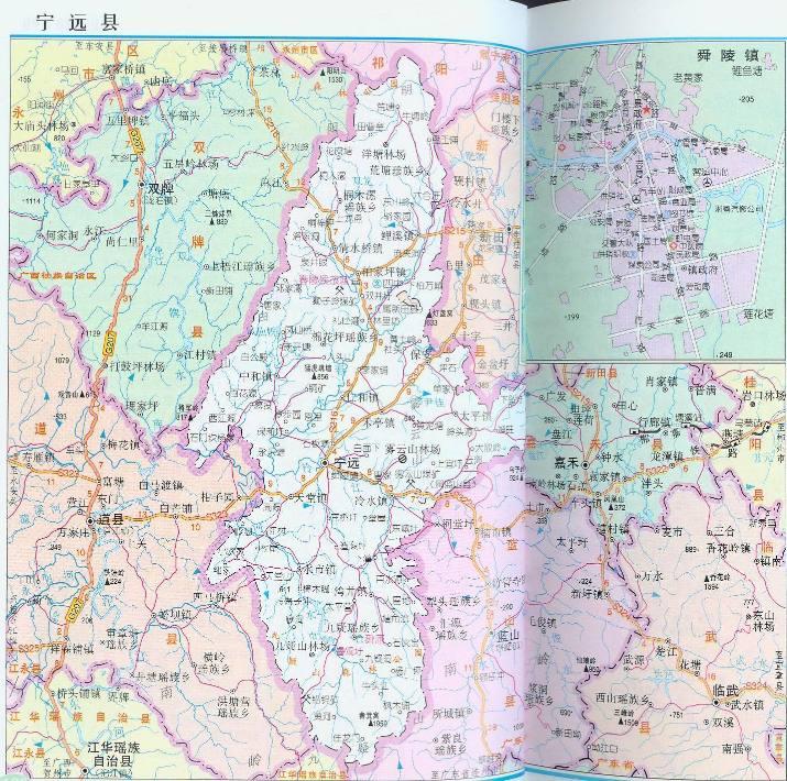 湖南永州宁远县----古称泠道,唐兴