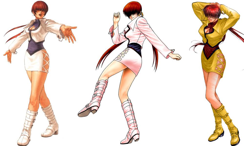 《拳皇》历代美女格斗家身材变化赏析,女神的进化史