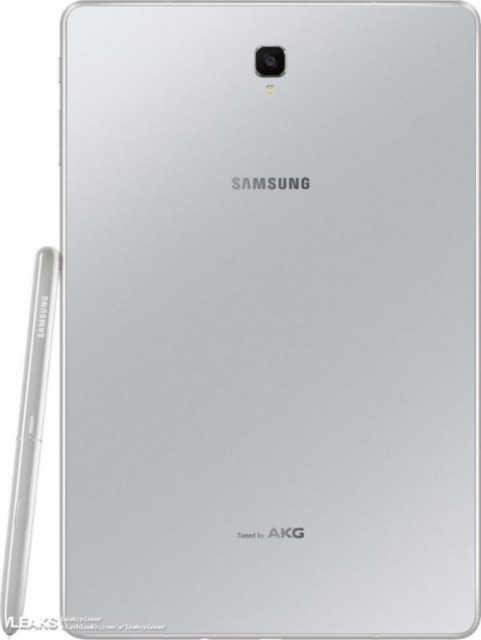 三星Galaxy Tab S4银白色版曝出 S Pen书写笔有修改