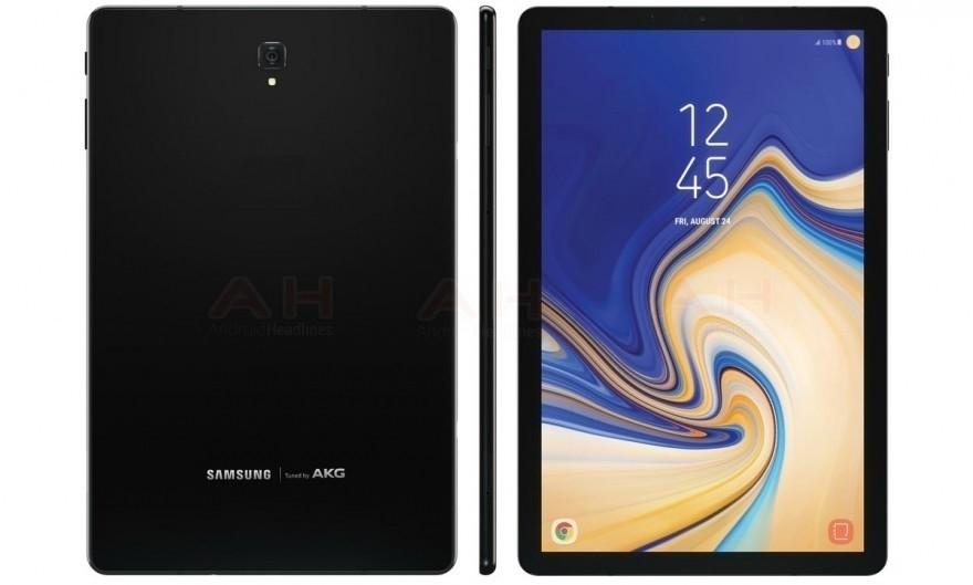 三星Galaxy Tab S4入门视頻曝出,最強平板电脑或8月9日公布