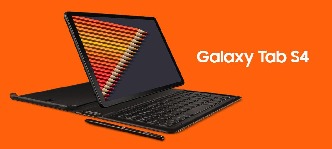 内嵌S Pen 三星旗舰级平板电脑Galaxy Tab S4宣布公布