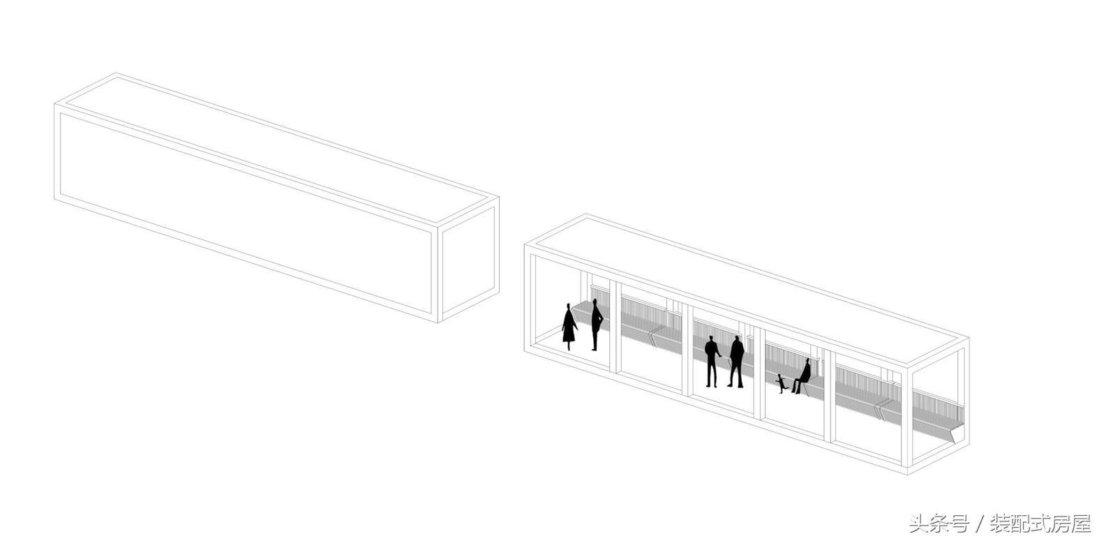集装箱建筑模块化,组成集装箱悬崖餐厅