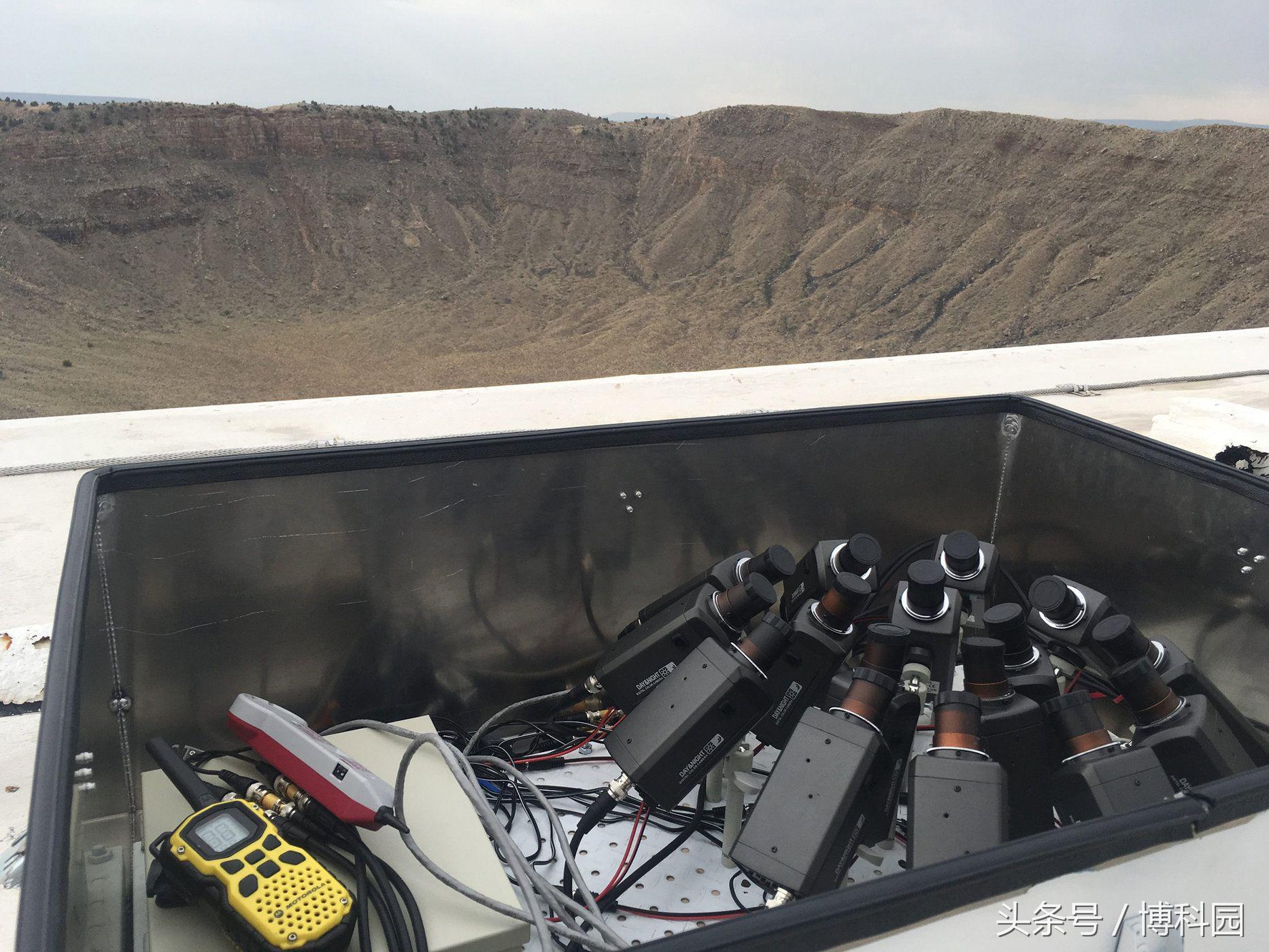 你看流星雨没?从流星陨石坑追踪英仙座流星雨的新摄影机