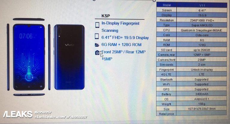 vivo新手机外型主要参数全方位曝出,X23?