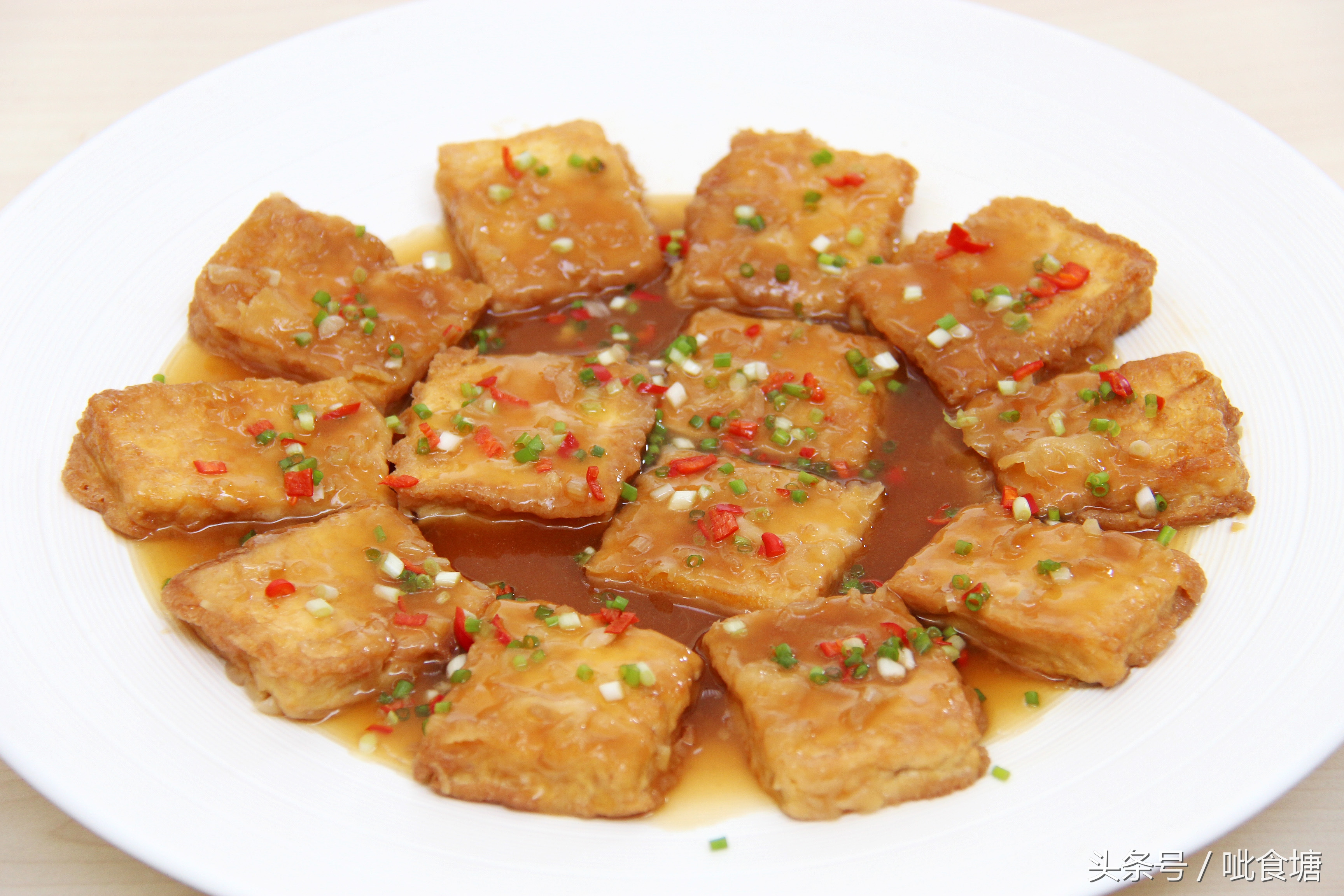 经典鲁菜锅塌豆腐 做法其实很简单 锅塌豆腐 第13张