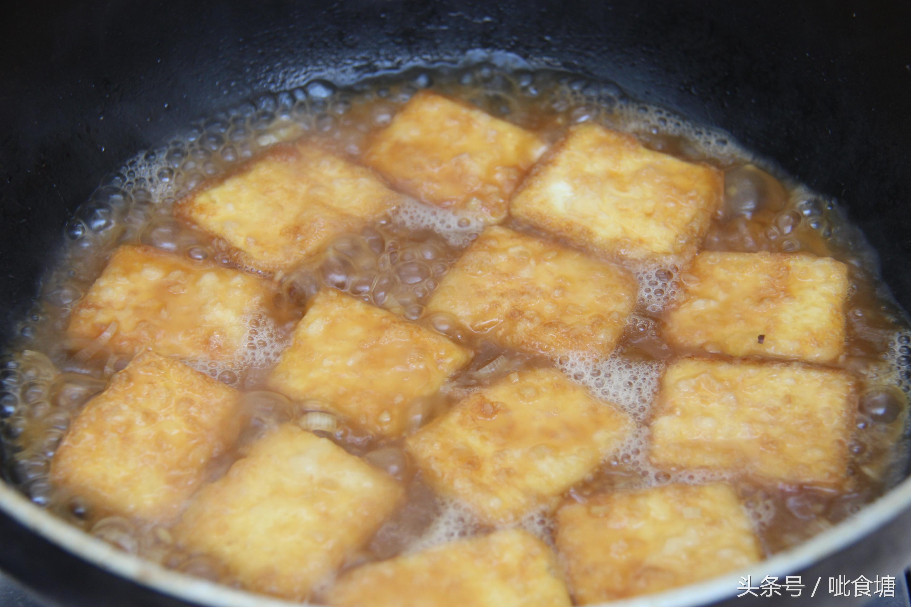 经典鲁菜锅塌豆腐 做法其实很简单 锅塌豆腐 第11张