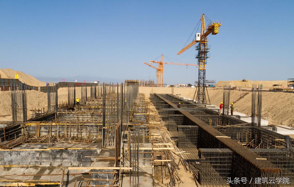 建筑工程房屋建筑施工工艺流程