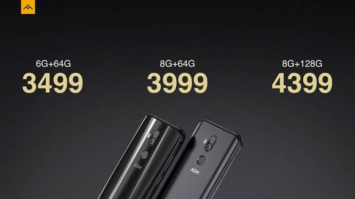 """""""地表最強戶外手機""""AGM X3公布:兼顧三防與便攜式,3499元起"""