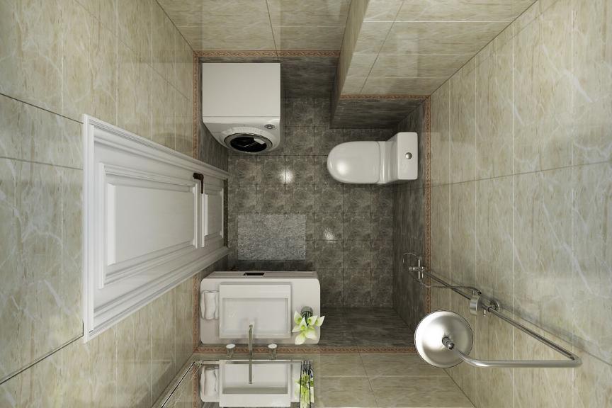 厨房卫生间铺砖,墙砖压地砖,好处原来有这么多!