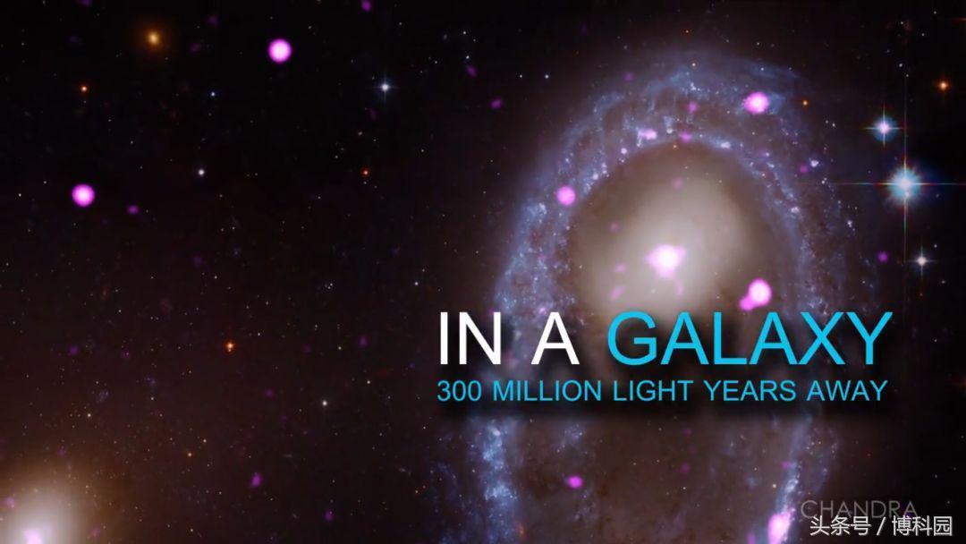 星系大碰撞,产生巨大的黑洞环