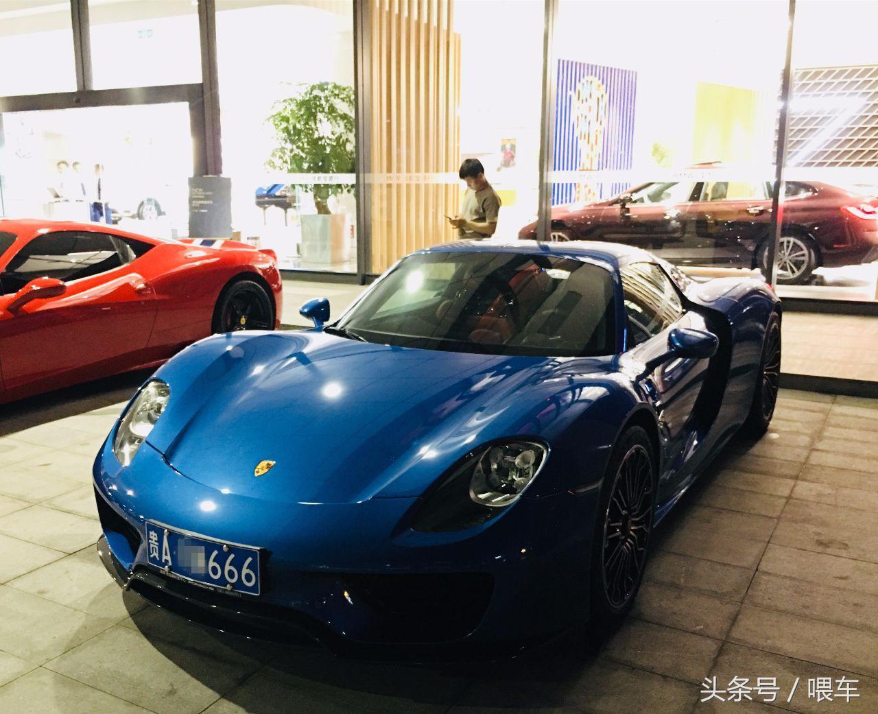 贵阳第一贵的超跑,车牌666,车主拥有25家4S店的
