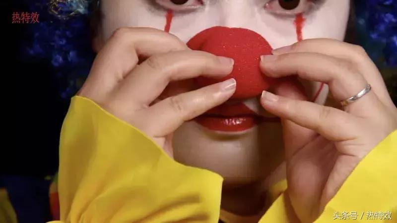 万圣节必备小丑妆教程,好可爱啊,看完你也会
